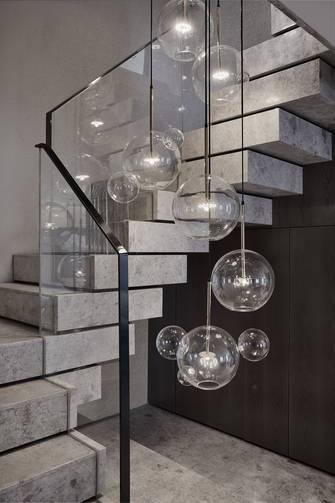 豪华型140平米复式北欧风格楼梯间欣赏图