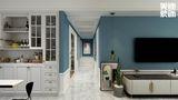 130平米四室两厅法式风格走廊图