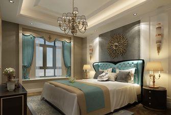 120平米三室一厅新古典风格卧室设计图