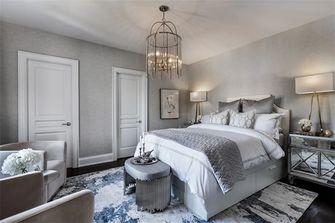 富裕型140平米别墅美式风格卧室图片大全