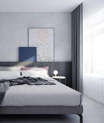 富裕型现代简约风格卧室图