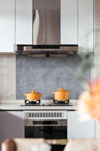 豪华型120平米三室四厅轻奢风格厨房装修效果图