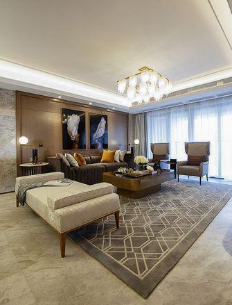 富裕型140平米三室两厅美式风格客厅欣赏图