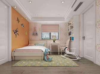 豪华型140平米四室三厅美式风格青少年房装修图片大全