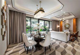 富裕型110平米三室一厅轻奢风格餐厅装修效果图