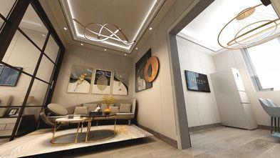 50平米一室两厅轻奢风格客厅图片大全