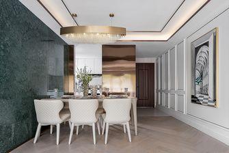 110平米三室两厅法式风格餐厅图片大全