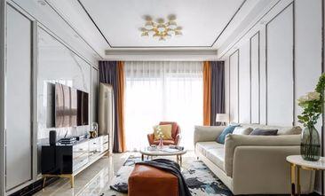 经济型100平米三室两厅现代简约风格客厅装修案例