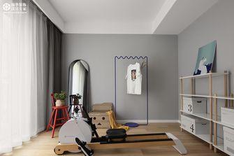 豪华型140平米三室两厅混搭风格健身房图片大全