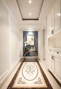 140平米复式美式风格走廊图片大全
