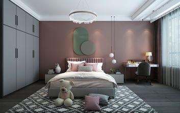 富裕型140平米四室两厅现代简约风格卧室图片
