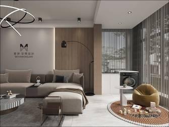 富裕型140平米三室两厅现代简约风格阳台装修案例