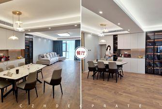 经济型140平米四室两厅现代简约风格餐厅设计图