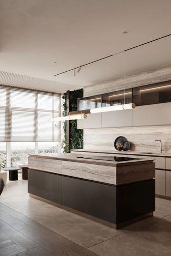 10-15万110平米三室一厅现代简约风格厨房装修效果图