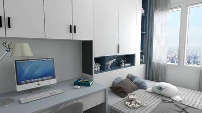 120平米三现代简约风格卧室设计图