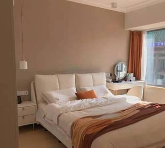 富裕型80平米公寓现代简约风格卧室装修案例