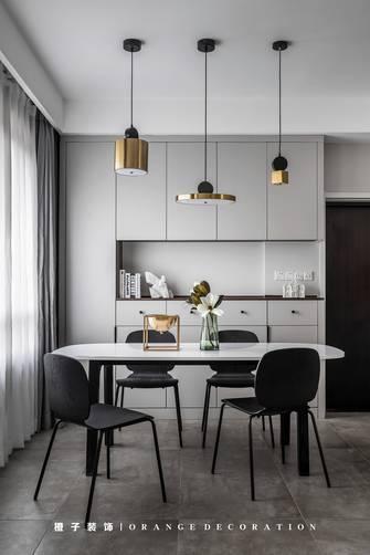 经济型140平米四室三厅现代简约风格餐厅图片