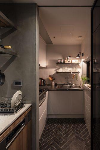110平米四工业风风格厨房图片
