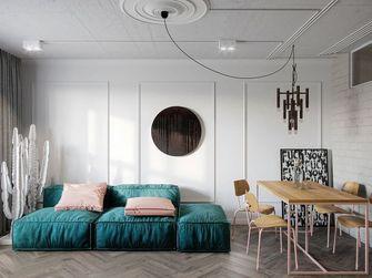 50平米中式风格客厅设计图