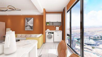 三室一厅轻奢风格阳台图片