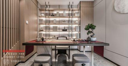 豪华型140平米别墅中式风格书房效果图
