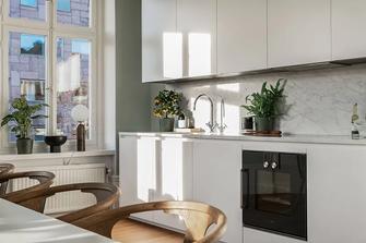 120平米三北欧风格厨房装修效果图