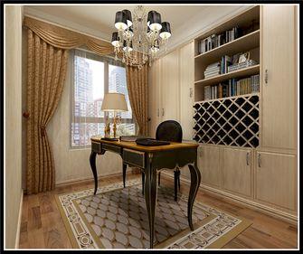 130平米三室一厅欧式风格影音室欣赏图