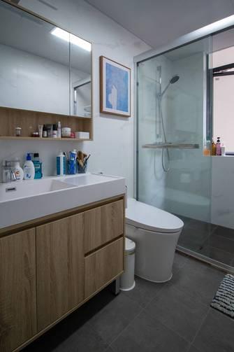60平米日式风格卫生间装修案例