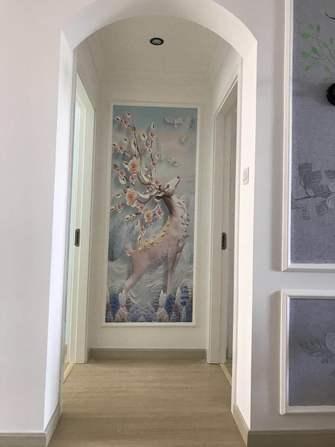 10-15万110平米三室两厅现代简约风格走廊图片