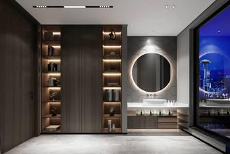 120平米三室两厅现代简约风格楼梯间效果图
