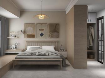 豪华型100平米四室两厅日式风格卧室装修图片大全