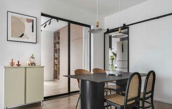 5-10万80平米公寓北欧风格餐厅装修案例