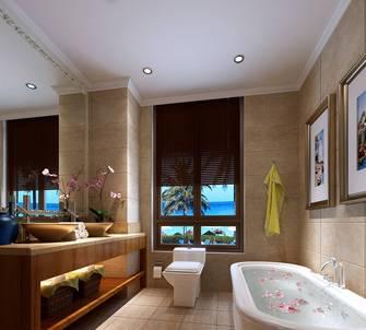 豪华型130平米三室两厅中式风格卫生间图