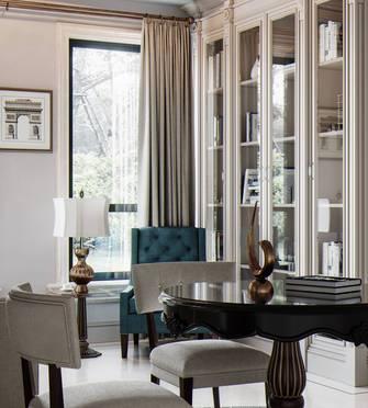 富裕型140平米复式美式风格书房装修效果图