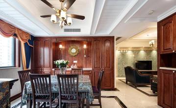140平米三室两厅美式风格餐厅效果图