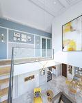 140平米北欧风格走廊装修案例