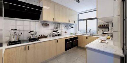 富裕型130平米三室两厅北欧风格厨房装修案例