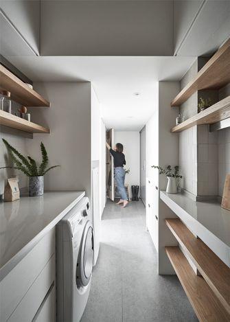 5-10万50平米公寓北欧风格走廊图片