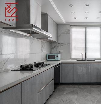 富裕型140平米复式美式风格厨房图片大全