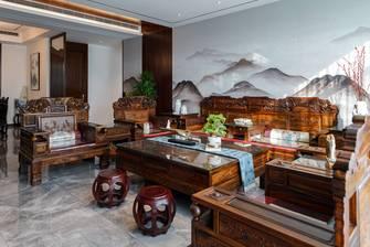15-20万140平米三室两厅中式风格客厅装修效果图