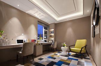 富裕型110平米三室两厅现代简约风格客厅欣赏图