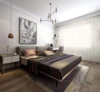 富裕型90平米北欧风格卧室欣赏图