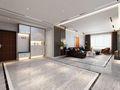 富裕型三室两厅现代简约风格玄关装修案例