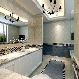 豪华型140平米三室三厅欧式风格卫生间装修效果图