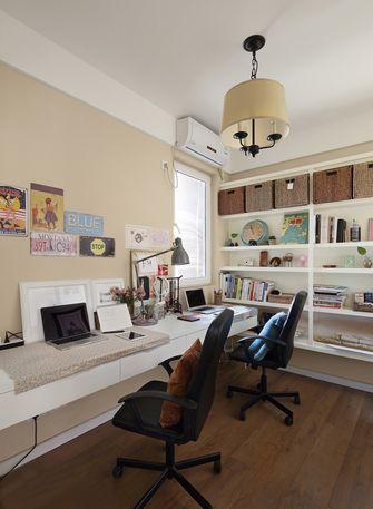5-10万100平米三美式风格书房图