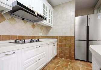 富裕型140平米四室四厅美式风格厨房图
