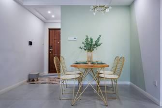 5-10万80平米三室两厅混搭风格客厅装修案例
