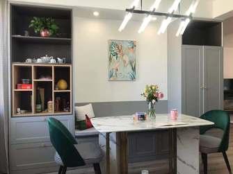 130平米三室两厅北欧风格厨房图片大全