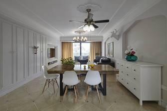 富裕型120平米三室一厅地中海风格餐厅图