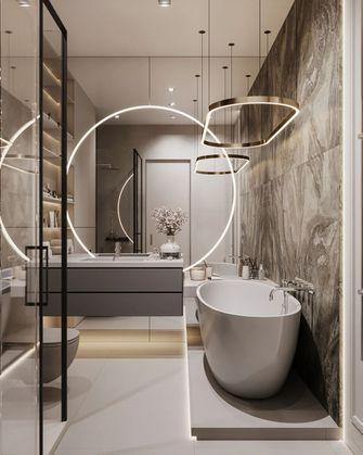 富裕型100平米一室一厅轻奢风格卫生间装修图片大全